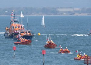 Lifeboats in the Sailpast